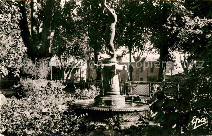 AK / Ansichtskarte Miliana Dans le jardin public Kat.