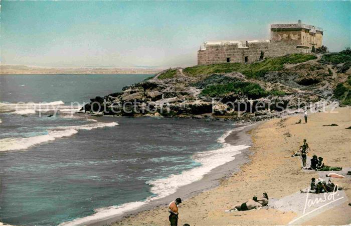 AK / Ansichtskarte Fort de l Eau La Plage et le Fort Turc