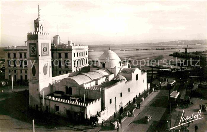 AK / Ansichtskarte Alger Algerien La Grande Mosquee