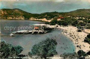 AK / Ansichtskarte Camp de Mar Detalle de la Playa Kat. Andratx Mallorca