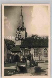 AK / Ansichtskarte La Tour de Peilz Kirche Kat. La Tour de Peilz