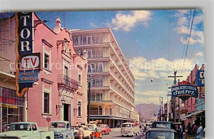 AK / Ansichtskarte Ciudad Juarez Teilansicht  Kat. Ciudad Juarez