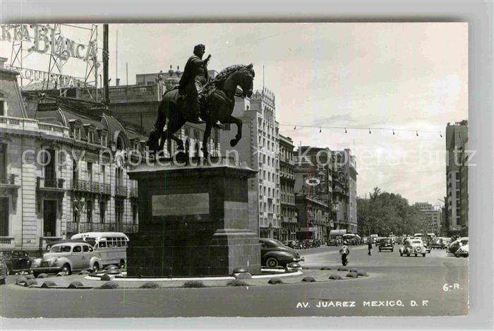 AK / Ansichtskarte Juarez Denkmal  Kat. Juarez