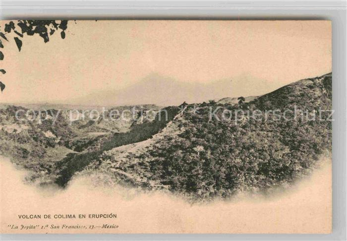 AK / Ansichtskarte Mexiko Vulkan Colima Kat. Mexiko