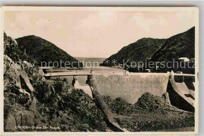 AK / Ansichtskarte Cordoba Cordoba Staumauer Dique Sankt Roque Kat. Cordoba