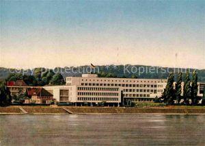 AK / Ansichtskarte Bonn Rhein Bundeshaus am Rhein Kat. Bonn