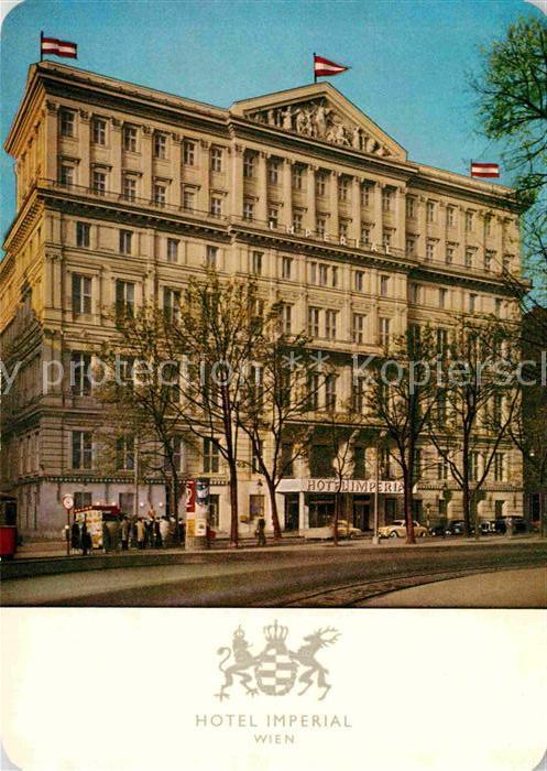 AK / Ansichtskarte Wien Hotel Imperial Kat. Wien
