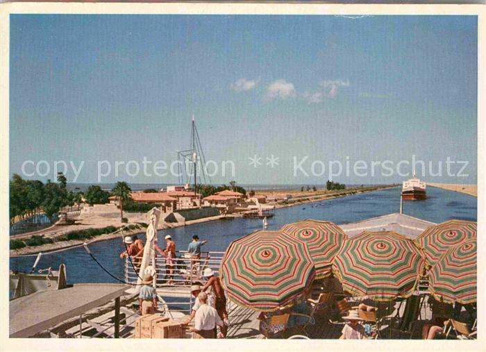 AK / Ansichtskarte Suez Suez Kanal  Kat. Aegypten