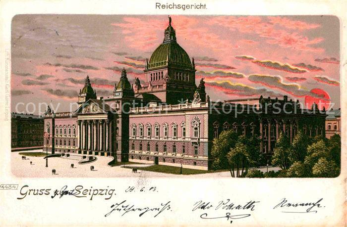 AK / Ansichtskarte Leipzig Reichsgericht  Kat. Leipzig