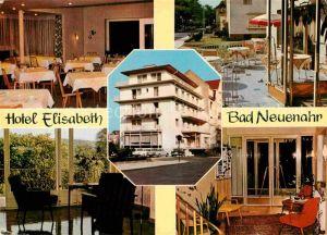 AK / Ansichtskarte Bad Neuenahr Ahrweiler Hotel Elisabeth Restaurant Terrasse Kat. Bad Neuenahr Ahrweiler