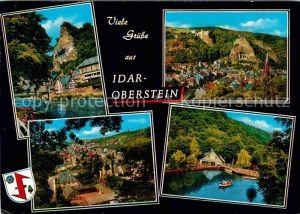 AK / Ansichtskarte Idar Oberstein Partie an der Nahe Felsenkirche Kat. Idar Oberstein