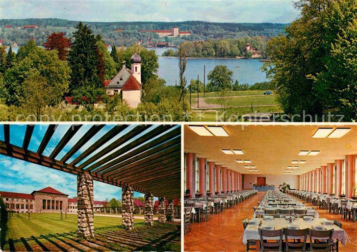 AK / Ansichtskarte Herrsching Ammersee Bundeszoll und Finanzschule Kat. Herrsching a.Ammersee