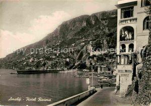 AK / Ansichtskarte Amalfi Hotel Riviera Kat. Amalfi
