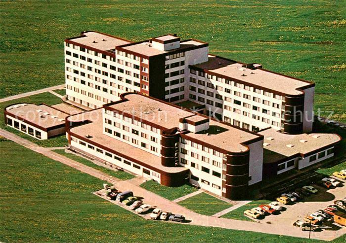 AK / Ansichtskarte Horn Bad Meinberg Sanatorium am Park Fliegeraufnahme Kat. Horn Bad Meinberg