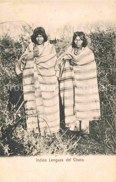 AK / Ansichtskarte Argentinien Indios Lenguas del Chaco Kat. Argentinien