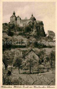 AK / Ansichtskarte Hohenstein Untertaunus Burg Kat. Hohenstein