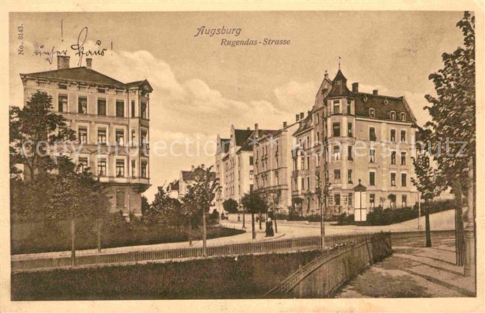 AK / Ansichtskarte Augsburg Rugendas Strasse  Kat. Augsburg