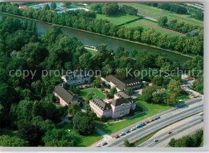 AK / Ansichtskarte Oberhausen Schloss Oberhausen Fliegeraufnahme Kat. Oberhausen
