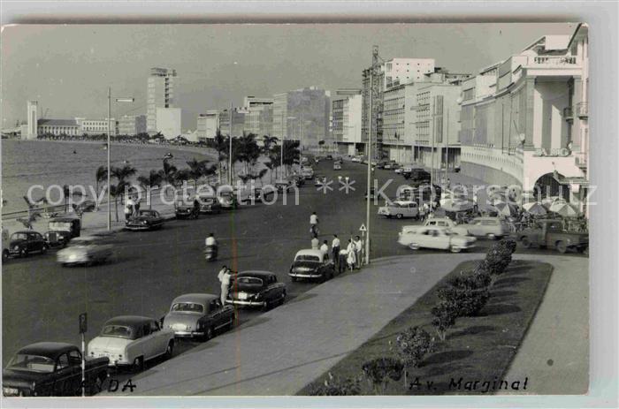 AK / Ansichtskarte Angola Promenade Kuestenstrasse Kat. Angola
