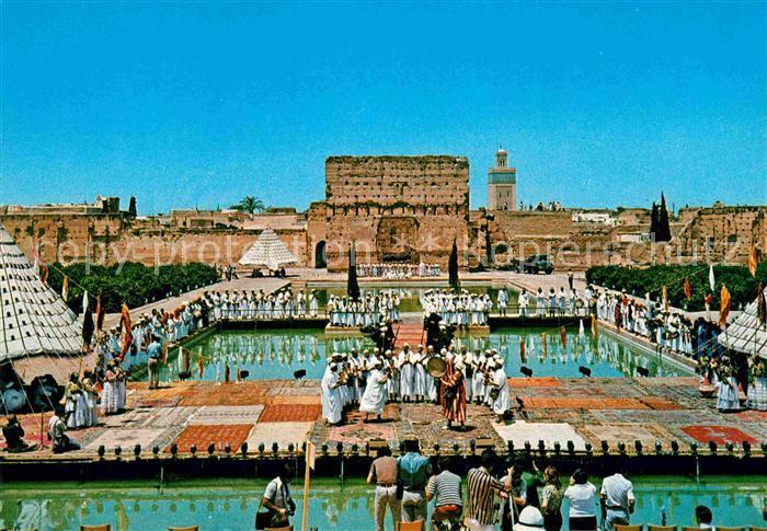 AK / Ansichtskarte Maroc Marokko Scenes et types du Maroc Danse Ahouach Haut Atlas Kat. Marokko