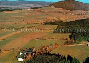 AK / Ansichtskarte Schmallenberg Jugendherberge Fliegeraufnahme Kat. Schmallenberg