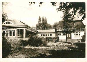 AK / Ansichtskarte Kloster Hiddensee Gerhart Hauptmann Gedaechtnisstaette Kat. Insel Hiddensee