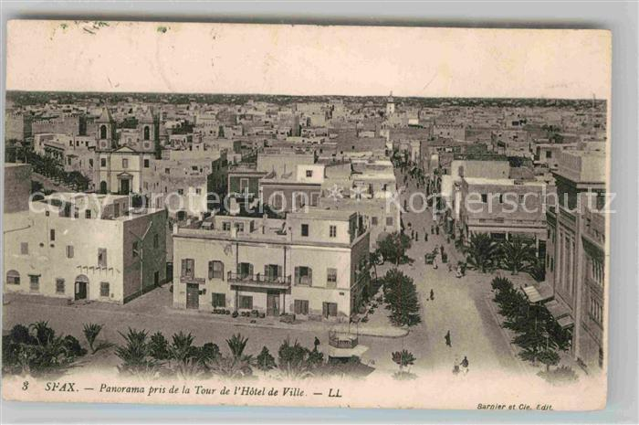 AK / Ansichtskarte Sfax Panorama pris de la Tour de l Hotel de Ville Kat. Tunesien