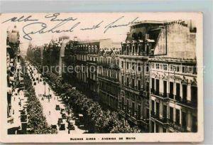 AK / Ansichtskarte Buenos Aires Avenida de Mayo Kat. Buenos Aires