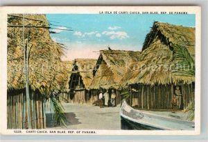 AK / Ansichtskarte San Blas Carti Chica Kat. Panama