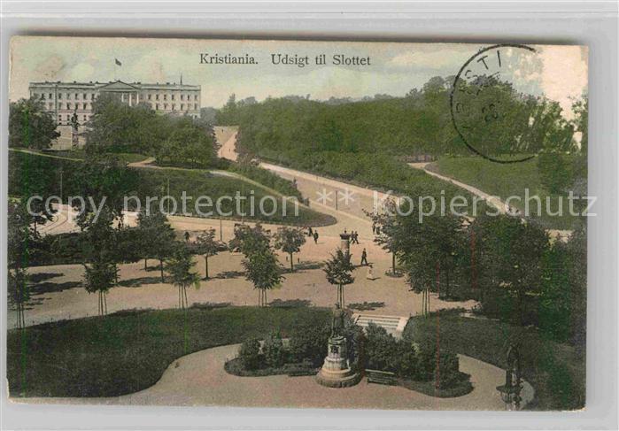AK / Ansichtskarte Kristiania Schloss Kat. Daenemark