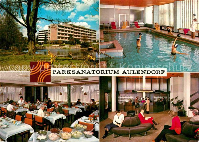 AK / Ansichtskarte Aulendorf Parksanatorium Kat. Aulendorf