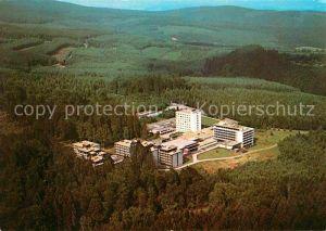 AK / Ansichtskarte Weiskirchen Schwarzwald Fliegeraufnahme Hochwald Sanatorium Kneipp Sanatorium Baerenfels