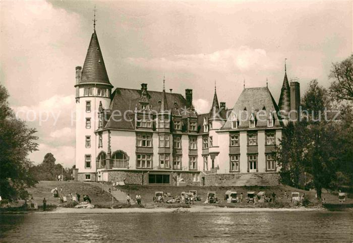 AK / Ansichtskarte Klink Waren FDGB Erholungsheim Schloss Klink an der Mueritz Kat. Klink Waren