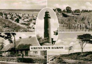 AK / Ansichtskarte Darss Region Ostsee Strand Leuchtturm Duenenlandschaft Kat. Wieck Darss