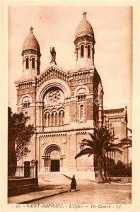 AK / Ansichtskarte Saint Raphael Dordogne Kirche Kat. Saint Raphael
