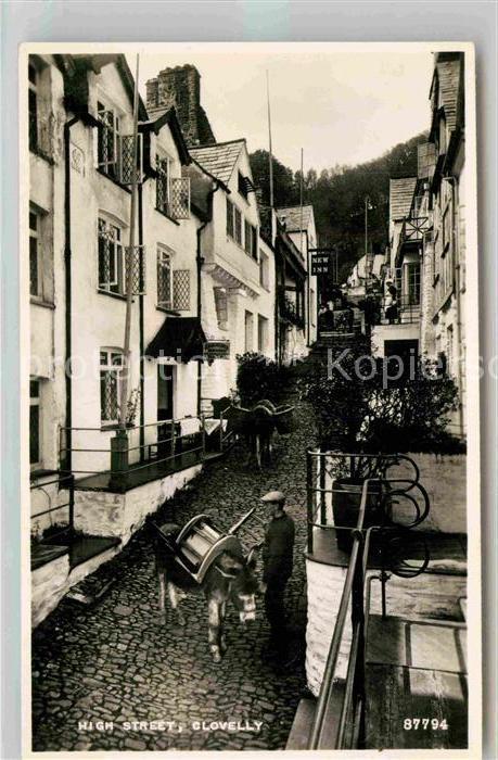 AK / Ansichtskarte Clovelly High Street