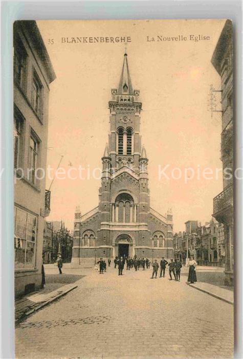 AK / Ansichtskarte Blankenberghe La Nouvelle Eglise Kat.