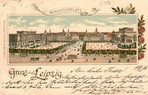 AK / Ansichtskarte Leipzig Augustusplatz Kat. Leipzig