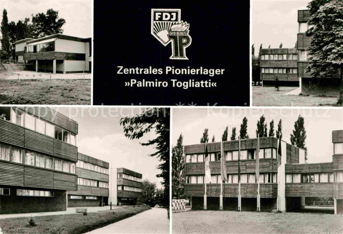 AK / Ansichtskarte Einsiedel Chemnitz Zentrales Pionierlager Palmiro Togliatti Kat. Chemnitz