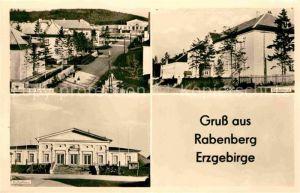AK / Ansichtskarte Breitenbrunn Erzgebirge Rabenberg Kulturhaus Kinderheim Kulturhaus Kat. Breitenbrunn Erzgebirge