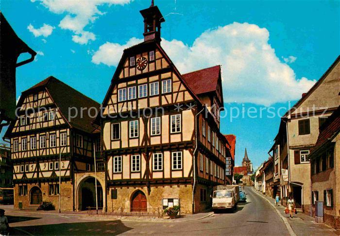 sindelfingen rathausplatz ibm krankenhaus altes rathaus goldbergturm daimler benz kat. Black Bedroom Furniture Sets. Home Design Ideas