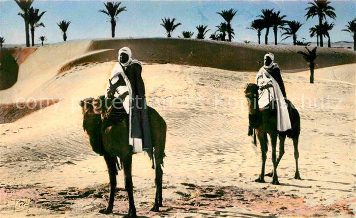 AK / Ansichtskarte Scenes et Types Nr. 1124 Paysage au Desert  Kat. Typen