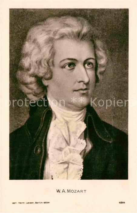AK / Ansichtskarte Mozart Wolfgang Amadeus  Kat. Komponist