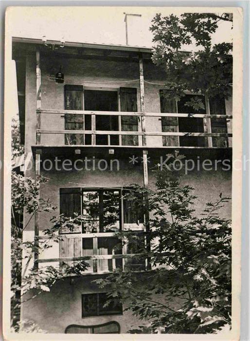 AK / Ansichtskarte Arcegno Casa Albert Schweitzer Kat. Arcegno