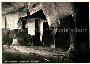 AK / Ansichtskarte Siracusa Grotta dei Cordari Kat. Siracusa