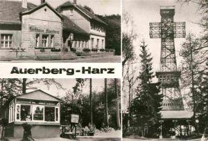 AK / Ansichtskarte Auerberg Harz Stolberg Restaurant Auerberg Josephskreuz Kat. Stolberg Harz