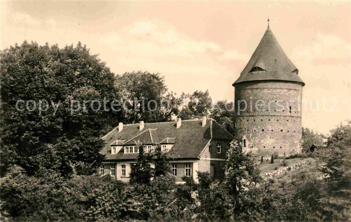AK / Ansichtskarte Plau Mecklenburg Burgturm Kat. Plau See