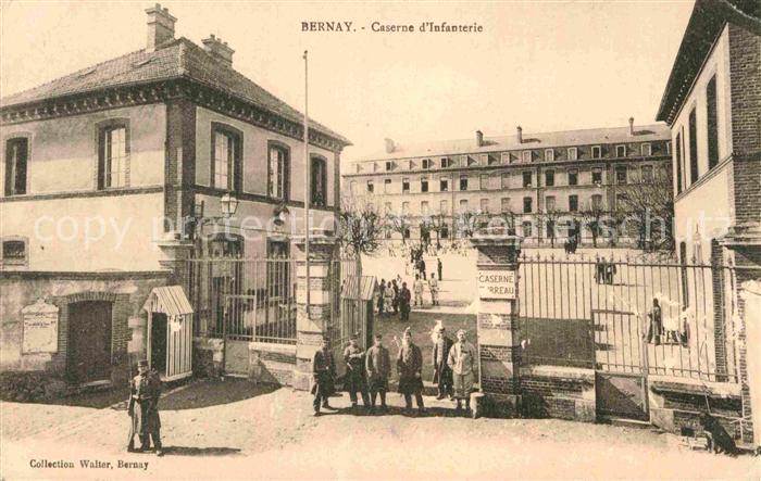 AK / Ansichtskarte Bernay Caserne d Infanterie Kat. Bernay