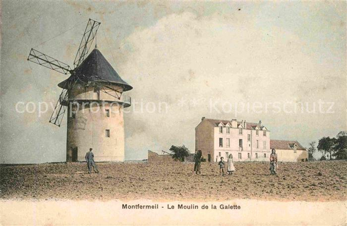 AK / Ansichtskarte Montfermeil Moulin de la Galette Kat. Montfermeil