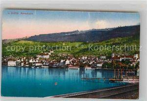 AK / Ansichtskarte Rorschach Bodensee Hafen Kat. Rorschach